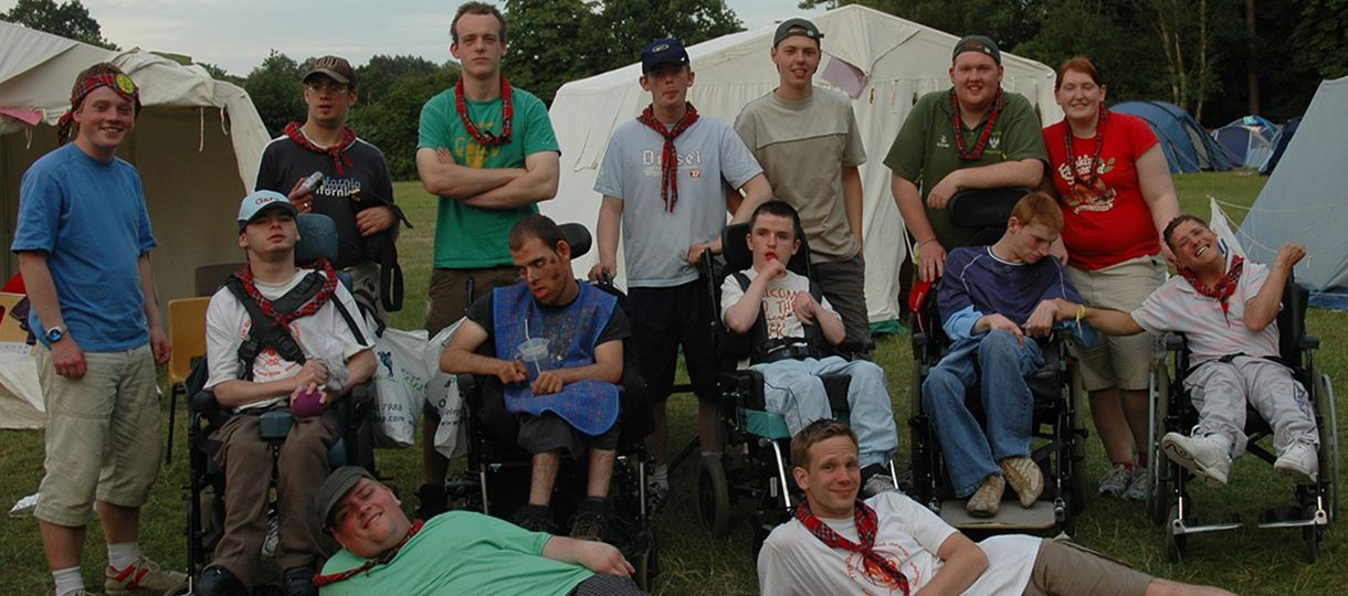 Help out at Glasgow Disabled Scouts' summer camp