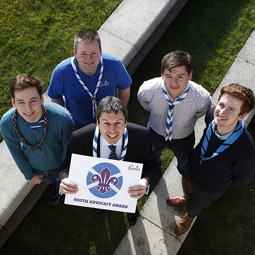 Youth Advocacy Award Scouts Scotland